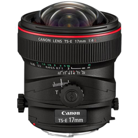 Canon TS-E 17mm F4L Tilt-Shift