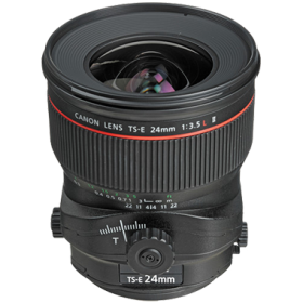 Canon TS-E 24mm F3.5L II Tilt-Shift