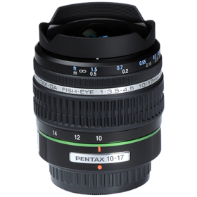Pentax smc DA 10-17mm F3.5-4.5 ED (IF) Fisheye