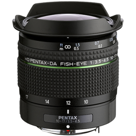 HD Pentax-DA 10-17mm F3.5-4.5 ED fisheye