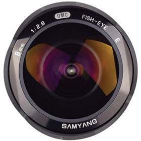 Samyang 8mm F2.8 UMC Fisheye / Rokinon 8mm F2.8 UMC Fisheye