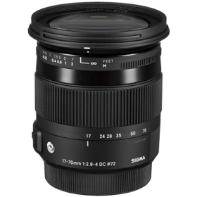 Sigma 17-70mm F2.8-4 DC Macro OS HSM Contemporary