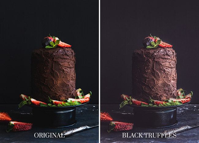 lightroom presets foods