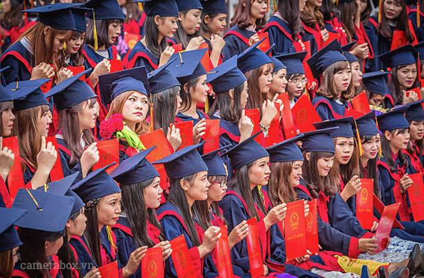 các chụp ảnh sự kiện lễ tốt nghiệp