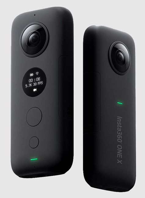 insta360 one x two view
