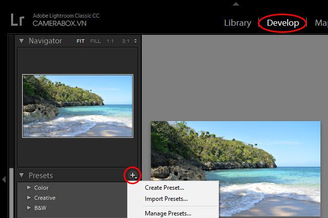 Hướng dẫn cài đặt, sử dụng Presets trong Lightroom và Photoshop