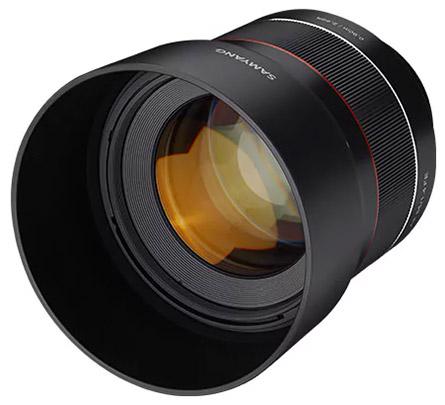 AF 85mm f/1.4 FE front