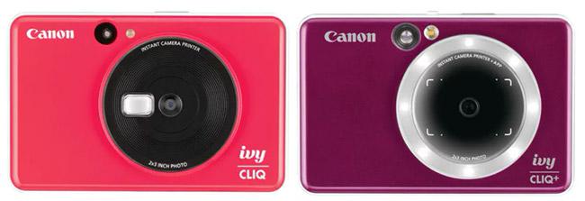 canon ivy cliq and cliq cliq compare