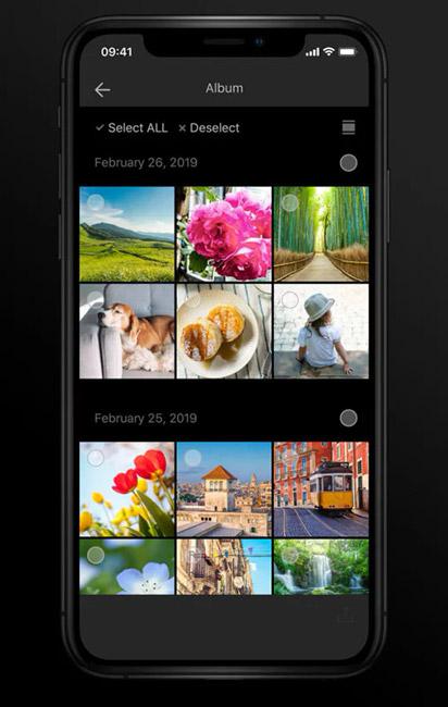 fujifilm camera remote app album sharing