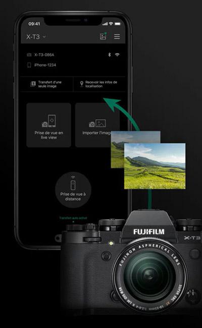 fujifilm camera remote app auto import