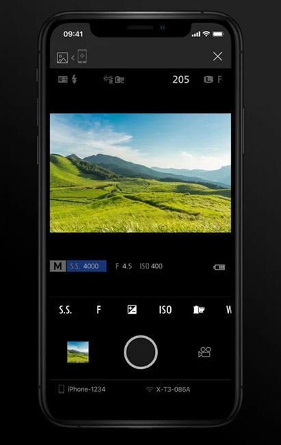 fujifilm camera remote app liveview