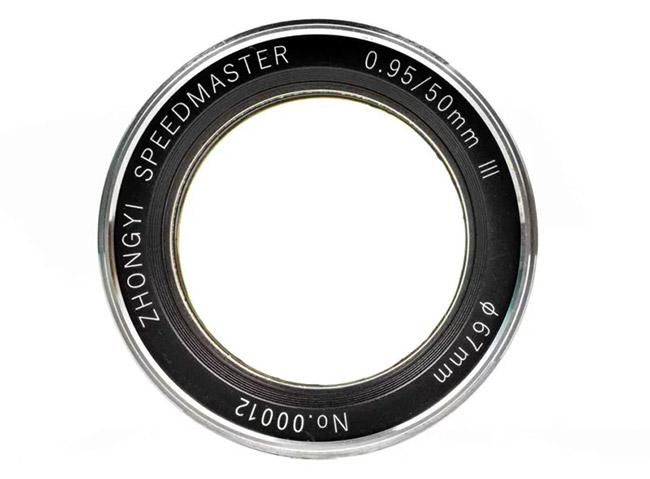 mitakon speedmaster 50mm f0 95 iii front