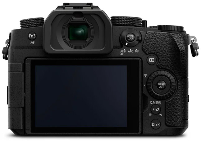 panasonic g95 back view