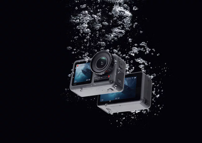 dji osmo action waterproof