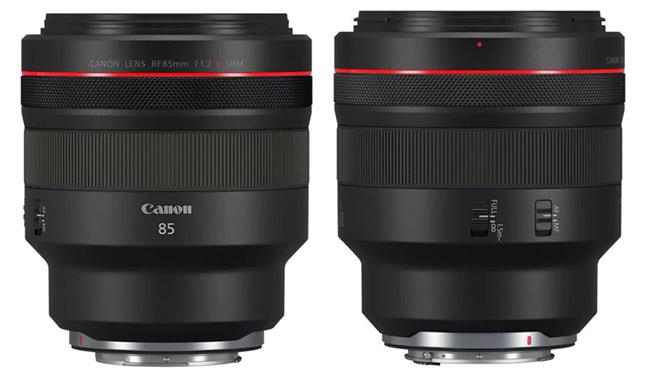 RF 85mm f/1.2L view