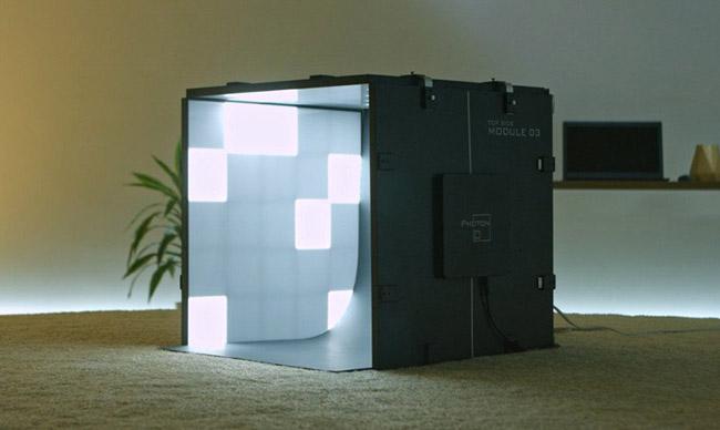 photon mini studio box view