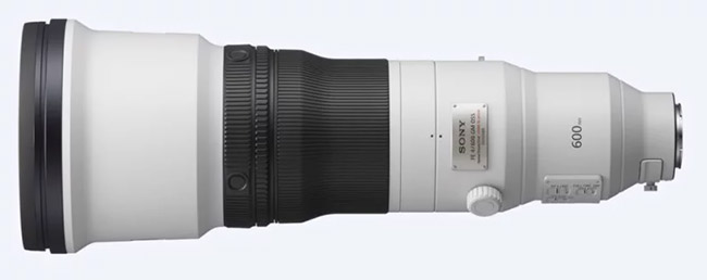 sony fe 600mm f4 g view
