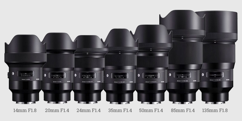 sigma art e mount list