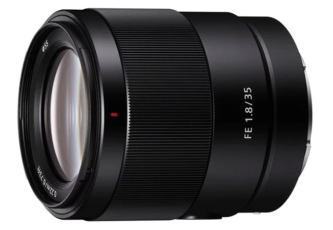 sony fe 35mm f1 8 view