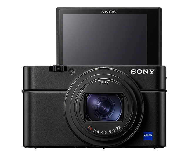 sony rx100 vii front lcd