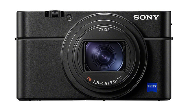 sony rx100 vii front