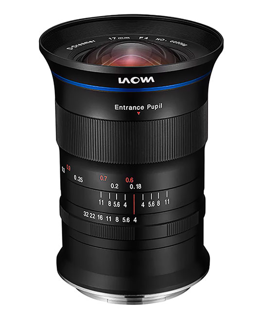laowa 17mm f4 ultra wide gfx zero d view