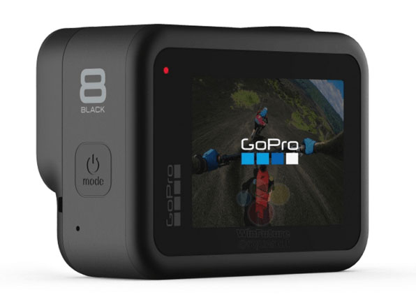 gopro hero8 back view