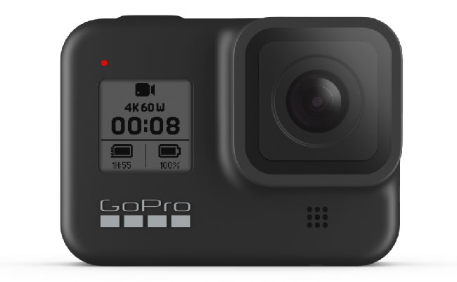 gopro hero8 front view