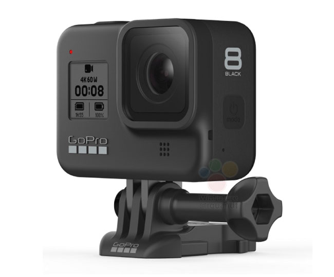 gopro hero8 hinged mounting