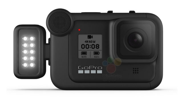 gopro hero8 led