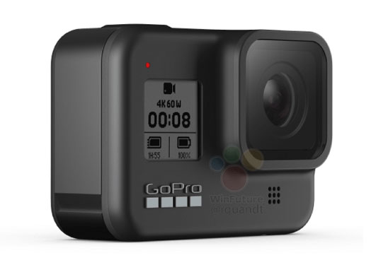 gopro hero8 side left