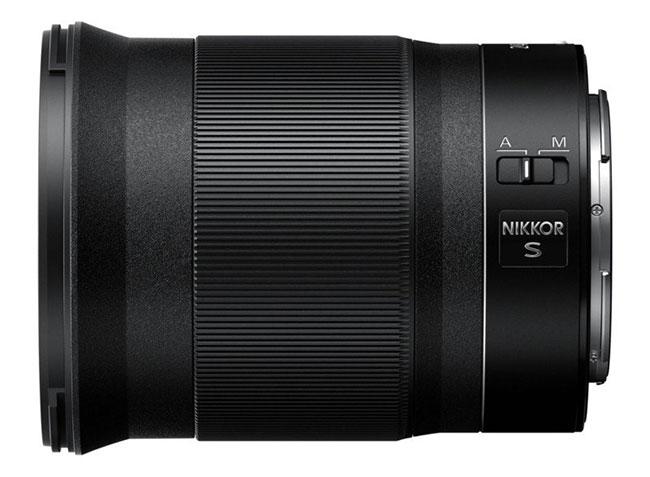 nikon nikkor z 24mm side view