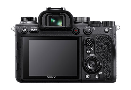 sony a9 ii back view