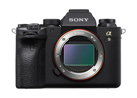 sony a9 ii front view