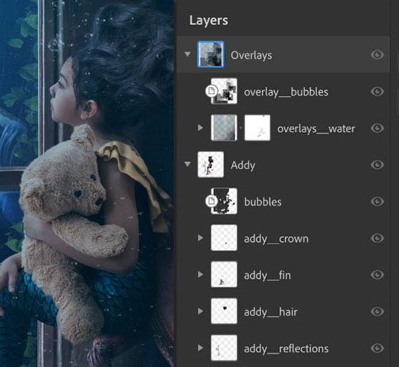 photoshop ipad layer