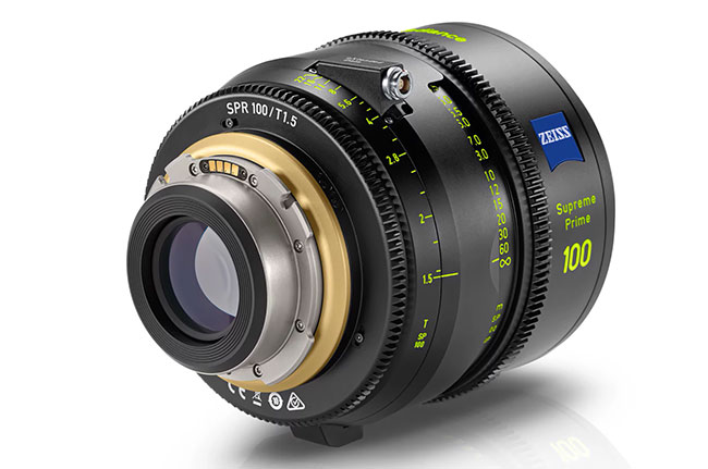 zeiss supreme prime radiance lens detail