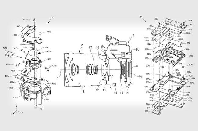 patent canon ibis lens stabilization