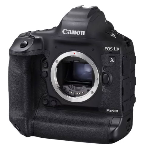 canon 1d x mark iii side