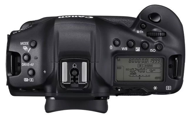 canon 1d x mark iii top