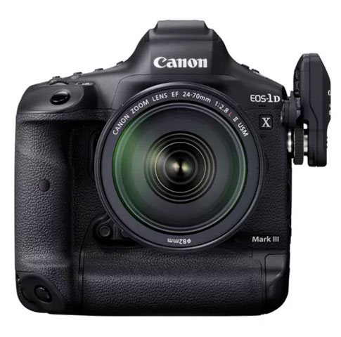 canon 1d x mark iii with lens