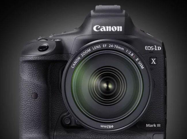 canon 1d x mark iii with lens