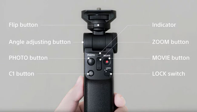 sony gp vpt2bt function