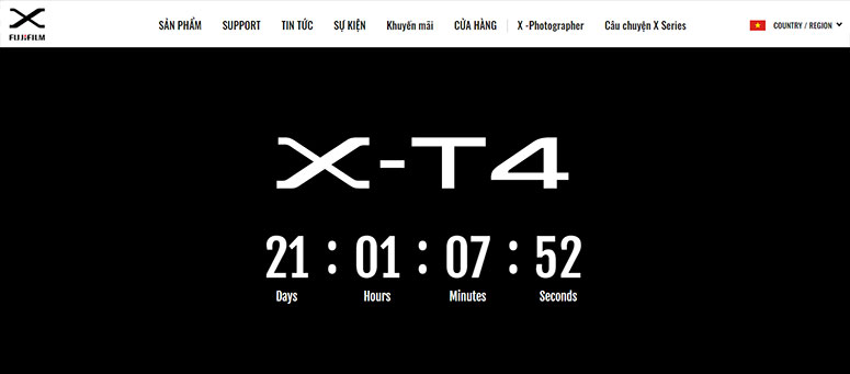 fujifilm x t4 countdown