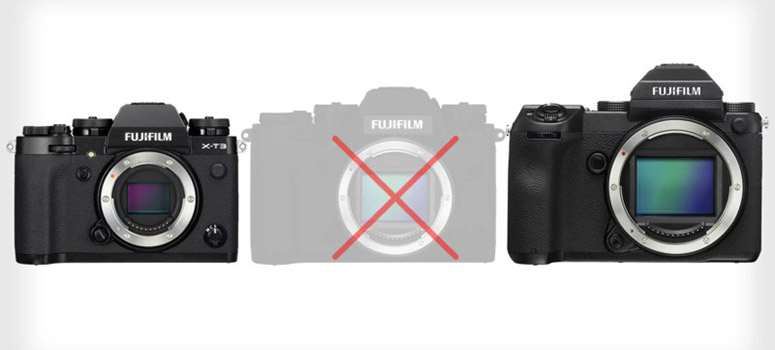fujifilm never full frame