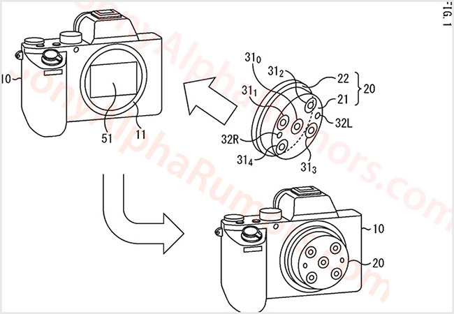 sony patents multi lens view 1