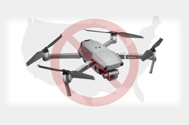 dji drone block usa