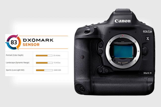 canon 1d x mark iii dxo