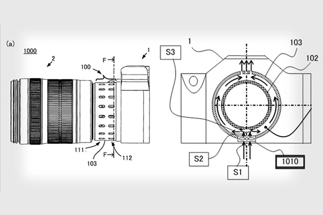 canon patents eos r lens adapter