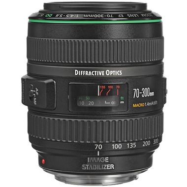 Canon EF 70-300mm F4.5-5.6 DO IS USM