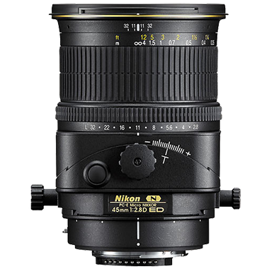 Nikon PC-E Micro NIKKOR 45mm F2.8D ED Tilt-Shift